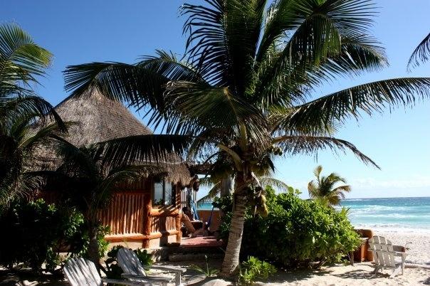 Mexico, Tulum. Love Cabanas la Conchita, especially the beach front cabana.