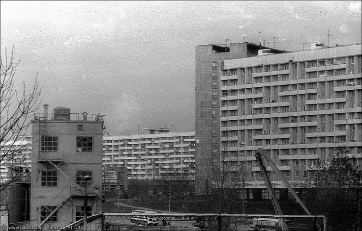 Фотография - 6-й микрорайон - Фотографии старой Москвы