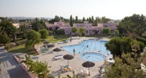 Roseland's Hotel Marmari Kos 600 metres from the beach. Click on Book Now/More info for availability.