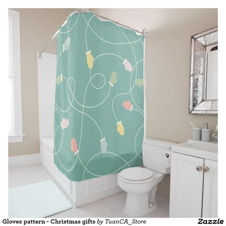 The 43 best Shower Curtains Collections Christmas - Xmas - Winter ...
