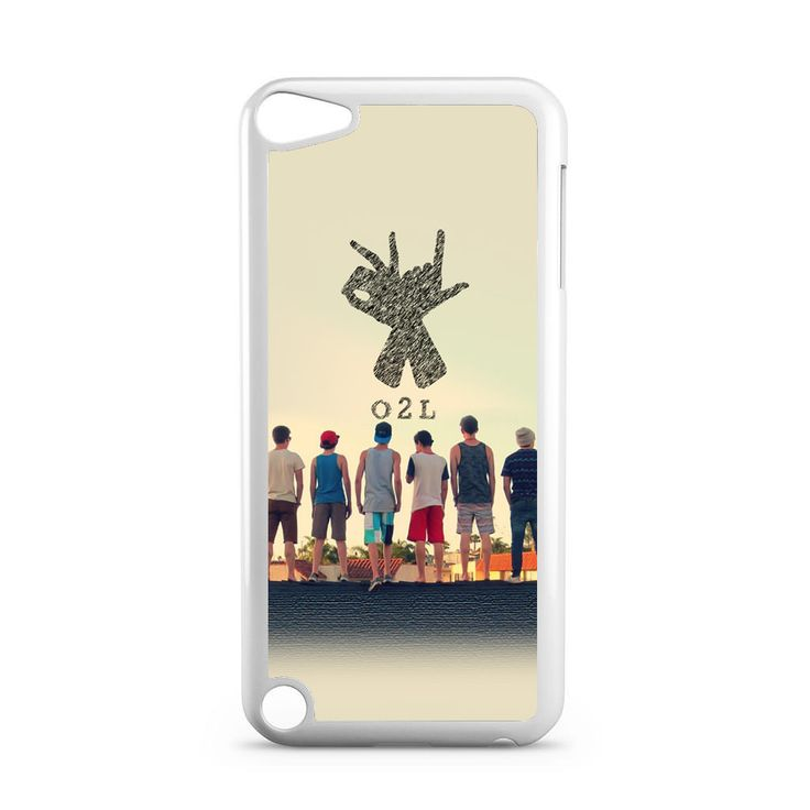 O2l Collage Hand Sign iPod Touch 5 Case