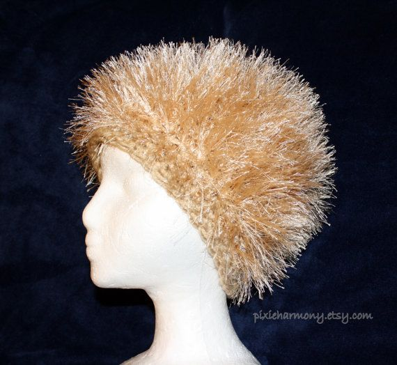 Adult Happy Hair  Cancer Cover  Rocker Hat  Chemo by pixieharmony