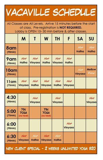 AKASHA YOGA - Vacaville Schedule - Vacaville, CA
