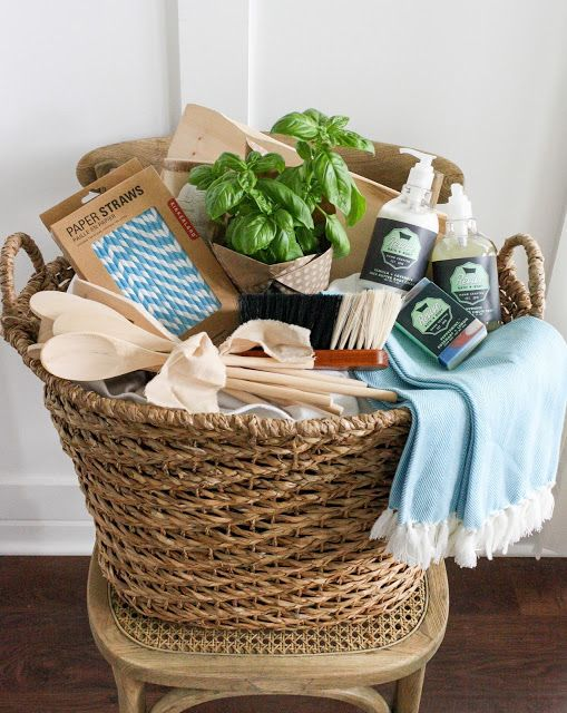 Best 25 Housewarming Basket Ideas On Pinterest Gift