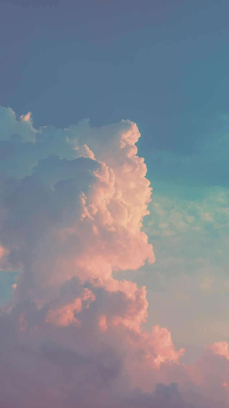 Wolke am Himmel #wallpaper #iphone #android #background #followme