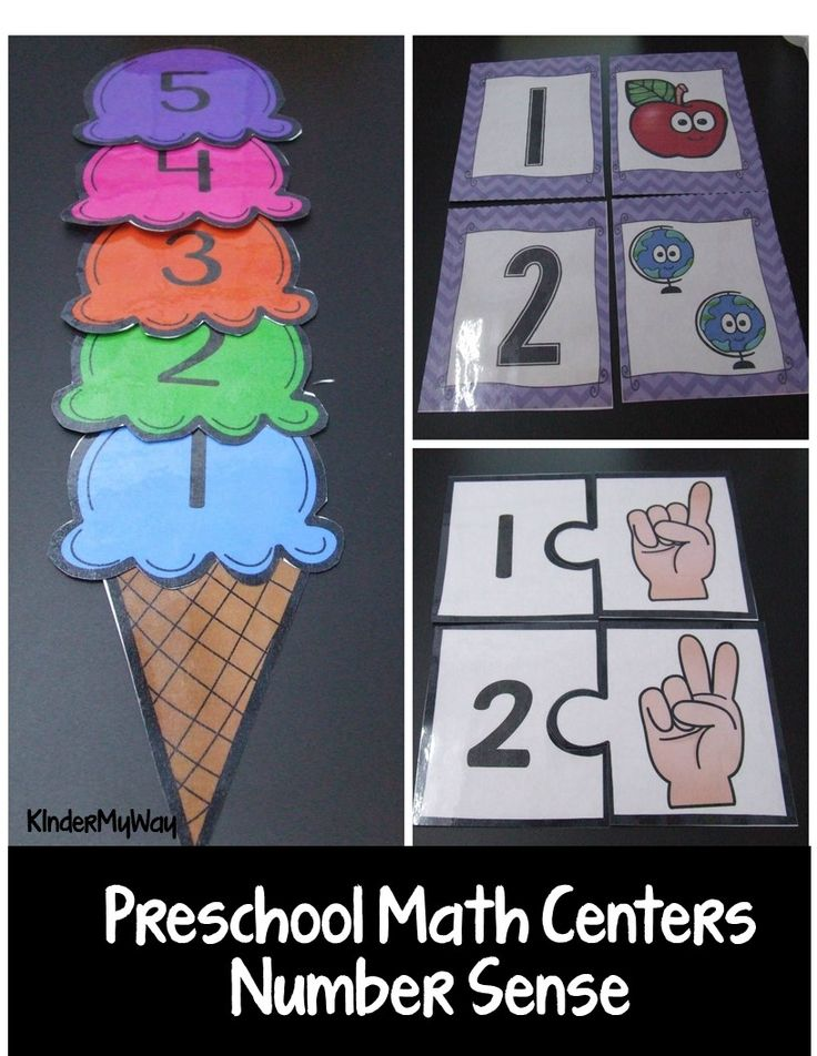 The Preschool Math Centers - Number Sense pack includes 17 hands-on, ready to print center activities that are ideal for the Preschool, PreK or TK classroom. Each center is easily differentiated and comes with easy directions for prep, how to play and conversation starters for adults working with the students.
