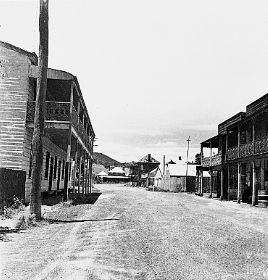 Main Street, Sofala (1947)  by Russell Drysdale