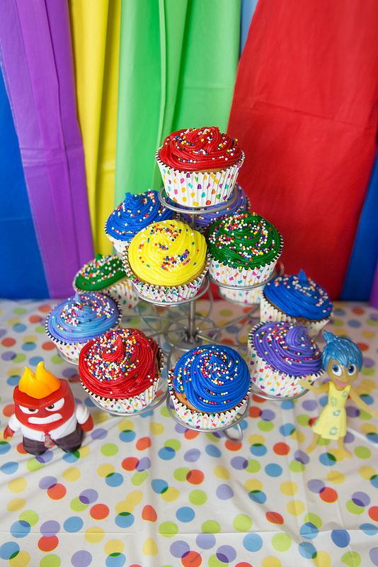 birthday cupcake ideas disney inside out ideas birthdays bday 31587