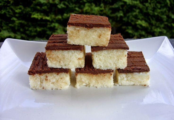 Csiperke blogja: Kókusz kocka sütés nélkül -gluténmentes!