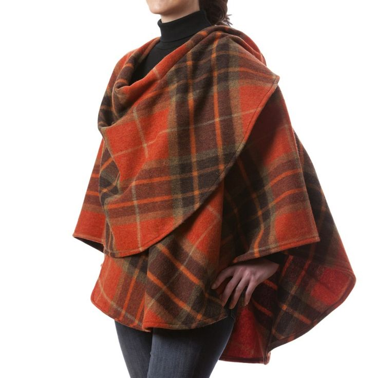 Irish Hand craft of Limerick, Ireland:  irishhandcraft.com:  Lambswool cape from our collection.
