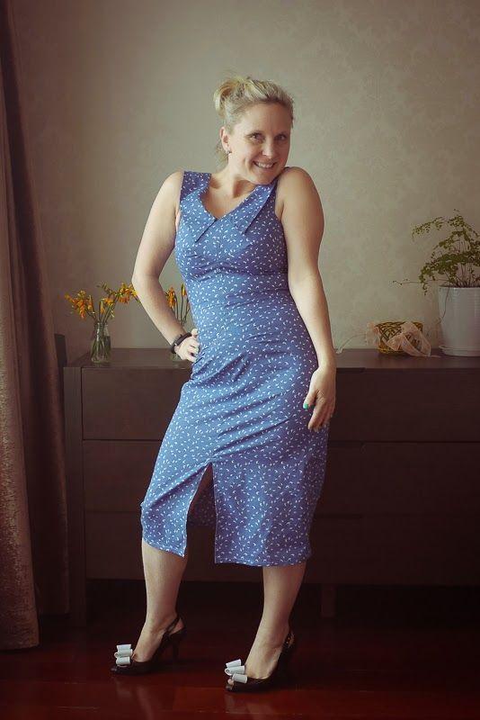 veronica darling: Voila: A Sweet Sophia Dress - By Hand London