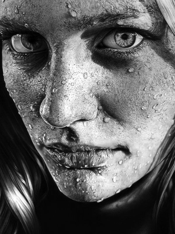 blob on face  Realistic Pencil Drawings A Showcase of Amazing, Photo Realistic Pencil Drawings