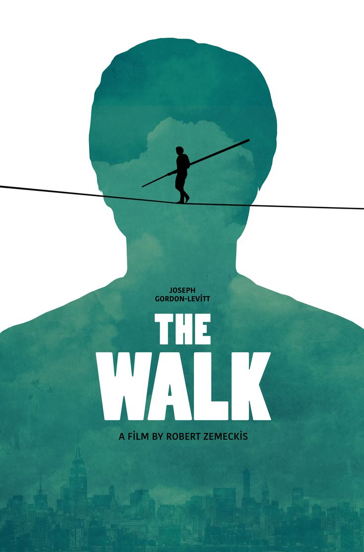 The Walk poster by SG Posters