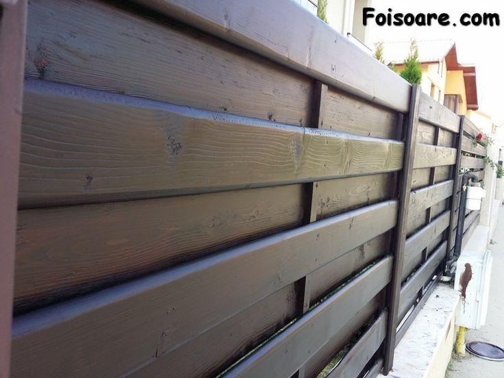 garduri din lemn model matrice