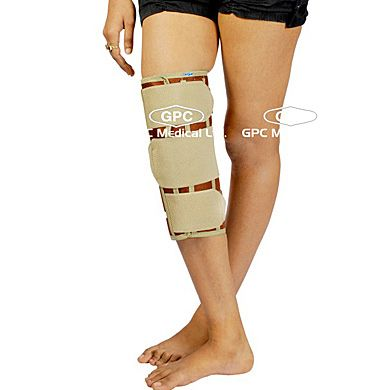 Knee Brace Short Type: GPC Medical Ltd. - Exporter & Manufacturers of Knee braces short type, vissco knee brace short type from India. Visit us online for more products http://www.orthopaedic-implants.net/knee_brace_short_type_india.html