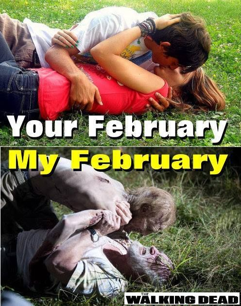 The Walking Dead February! best part of being single i get to marathon the walking dead without anyone complaining about it :)