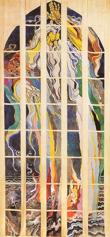 Stanisław Wyspiański | Bóg Ojciec: Stań się! 1904