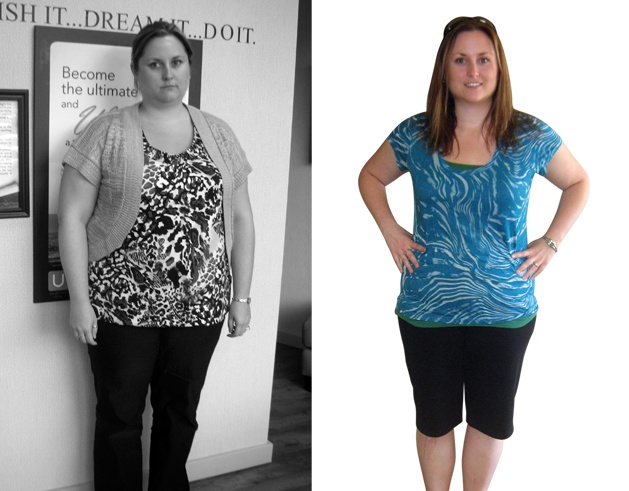 Krista of Kamploops, BC, lost 108 pounds with U Weight Loss! #u_weight_loss