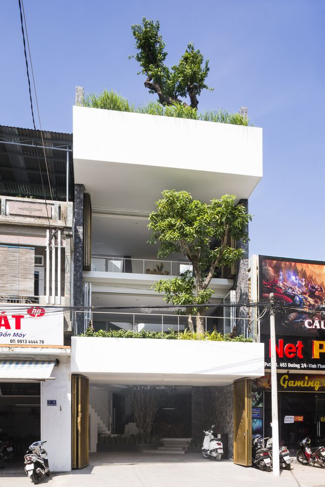 Gallery Of 204 House Mw Archstudio 1 Small House Design Architecture Modern Architecture Modern Architecture Design Small house design vietnam