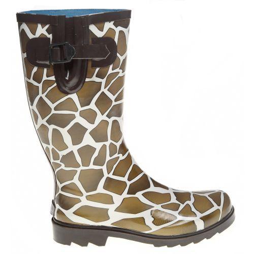 Stone Creek Women's Giraffe Print Rubber Boots.  Academy.  $14.88