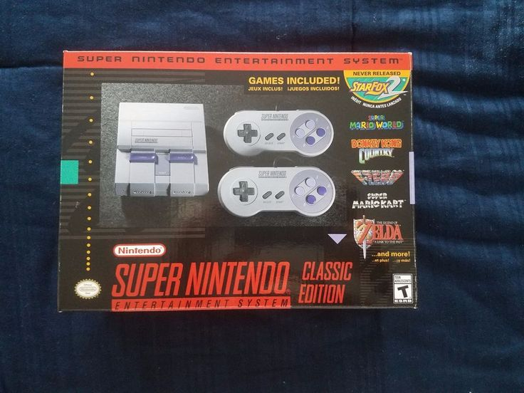 Super Nintendo Classic Edition Mini BOX ONLY! Original, Authentic (No System) #Nintendo