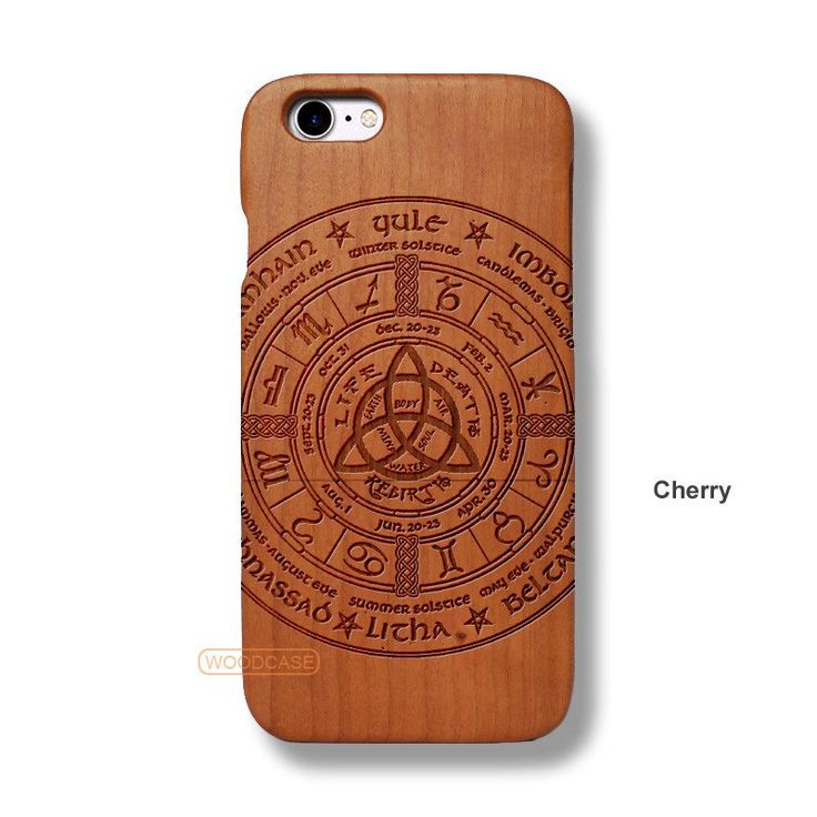 Aztec Tribe iPhone 7 Case - iPhone 7 Solid Total Wood Case - ADTRF0107