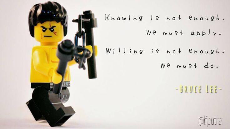 Lego MOC Minifigure Bruce Lee