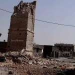 FSLDK » Forum Silaturahmi Lembaga Dakwah Kampus » The mosque, a mosque built Umari's record by Umar the Prophet r. a Shia Regime's army, destroyed Assad Daraa, Syria 13-4 to 2013.
