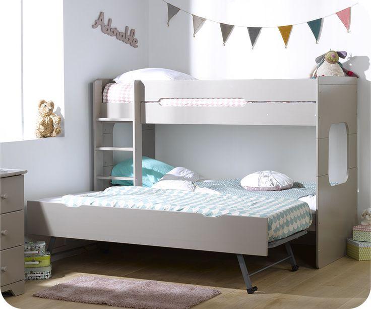 1000 id es sur le th me camas juveniles sur pinterest juveniles lits simpl - Lit gigogne superpose ...
