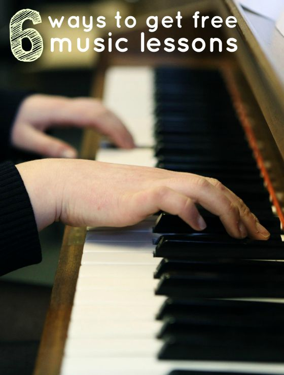 6 Ways To Get Free Music Lessons. #frugal #frugalliving #blog http://www.mrsjanuary.com/  Look into online lessons