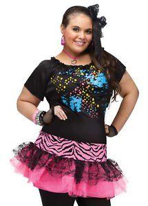 LanLan Sexy Womens Plus Size 80s Pop Star Halloween Costume Lanlan http://www.amazon.com/dp/B00OYVIAJY/ref=cm_sw_r_pi_dp_eMufxb16MRMEK  20 each