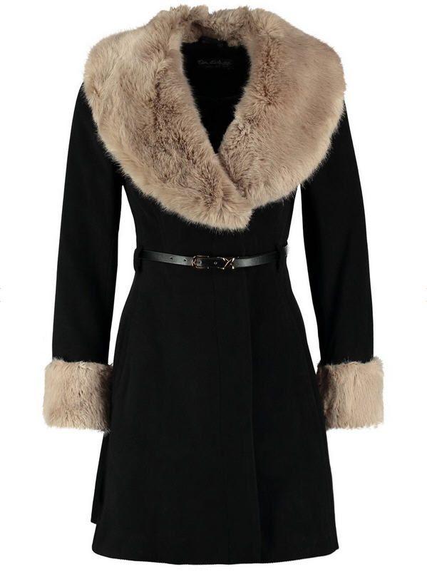 Manteau Femme Zalando, craquez sur le Miss Selfridge Manteau court noir prix promo Zalando 115.00 € TTC