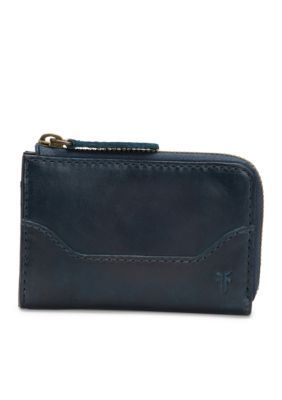 Frye Melissa Small Zip Wallet - Navy - One Size