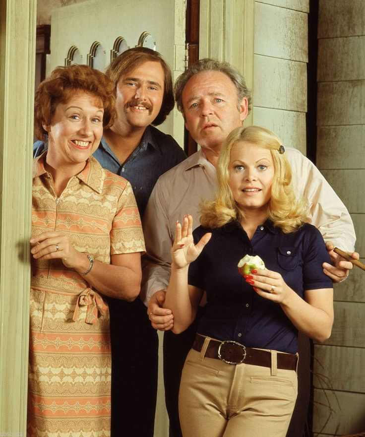 All in the Family: Jean Stapleton, Rob Reiner, Carroll O'Connor and Sally Struthers