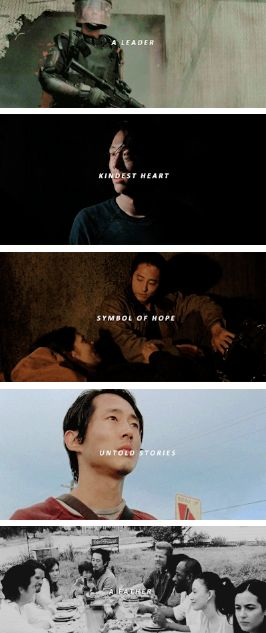 Glenn Rhee: A Leader, Kindest Heart, Symbol of Hope, Untold Stories, A Father #7x01