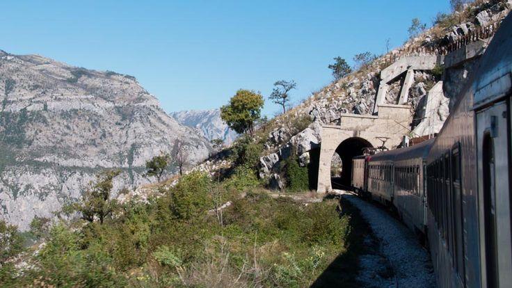 Zug Bar - Belgrad im Dinarischen Gebirge