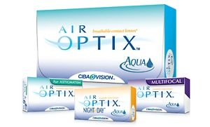 Groupon - 6-Month Supply of Air Optix Contact Lenses from Postal Contacts. Groupon deal price: $64.99