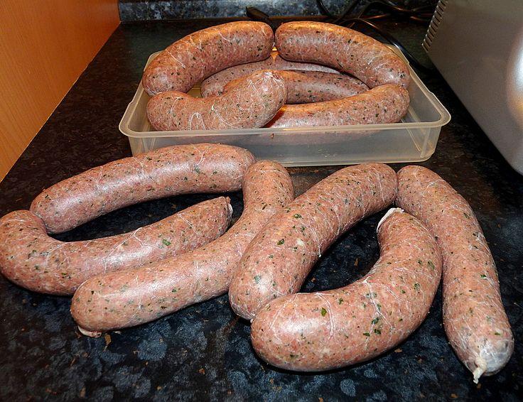 Chefkoch.de Rezept: Grobe Bratwurst nach Fränkischer Art