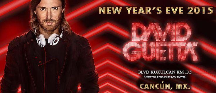 David Guetta en Cancun 2014 – 31 de Diciembre
