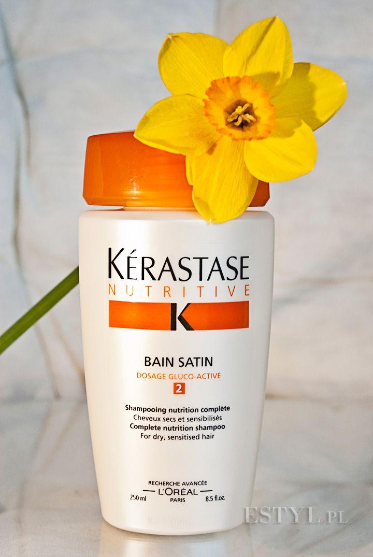 """#Kerastase Nutritive Bain Satin 2 to szampon do włosów uwrażliwionych i średnio suchych, naturalnych lub po koloryzacji. Kąpiel wygładza, dodaje miękkości i ułatwia rozczesywanie. W swojej #recenzji tego kosmetyku, Ola ostrzega: """"Szampon może okazać się zbyt ciężki dla włosów cienkich"""" - warto zobaczyć cały test na naszym blogu. Zapraszamy ;)"""