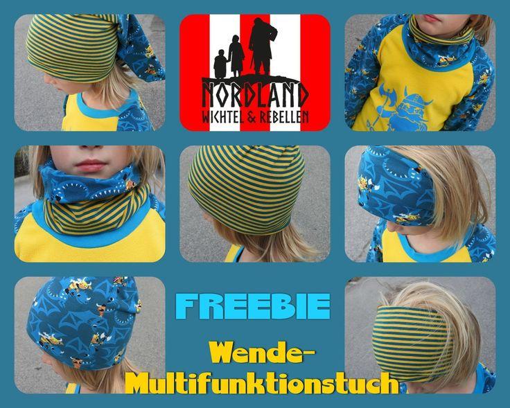 Nordland Wichtel : Freebie: Wende-Multifunktionstuch