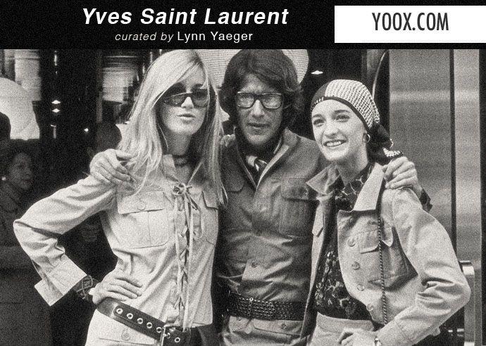 È caccia aperta su Yoox.com agli ultimi capi in vendita della special selection dedicata al grande Yves Saint Laurent