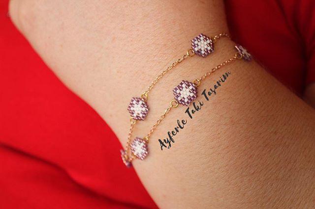 @cabbarozlem #kartanesi #rose #zincir #miyiuki #miyukidelicas #delikas #taki #takitasarim #ayferletakitasarim @ayferletaki #handmade #jewellery #stone #desing #