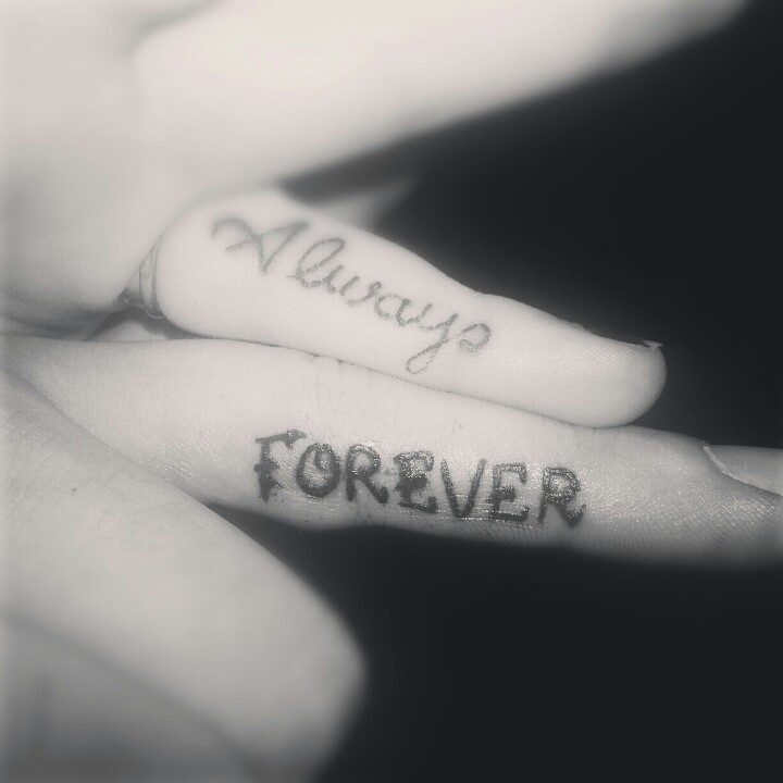 Ammco Bus Forever And Always Couple Tattoo