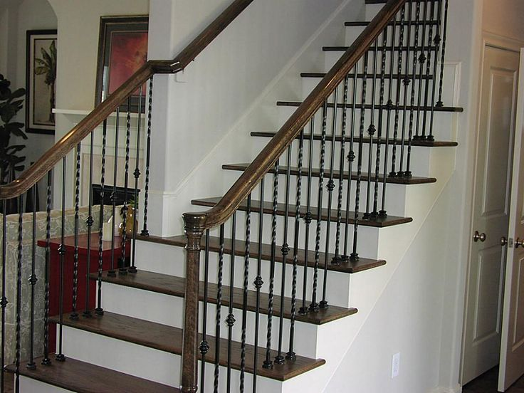 78 best Spindle and Handrail Designs images on Pinterest Stairs