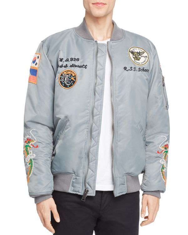 Schott West Pacific Souvenir Bomber Jacket