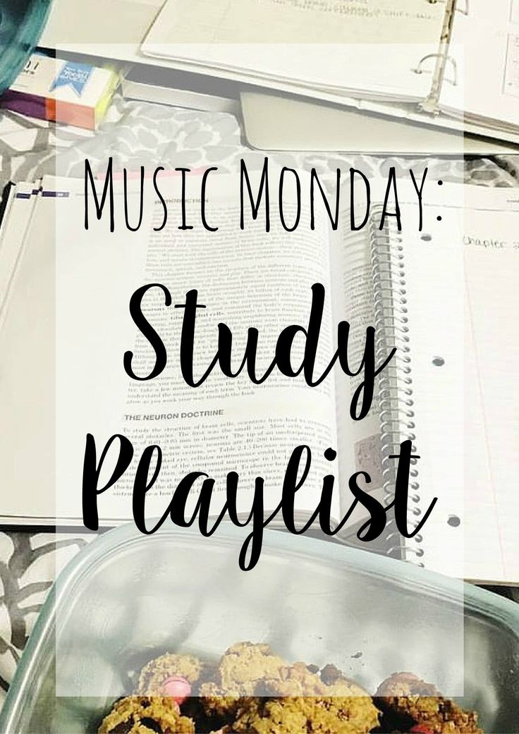 Do you listen to music while you study? Today I'm sharing some of my favorite picks from my study playlist!