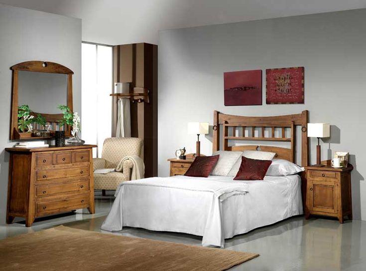 dormitorio completo rustico lagar