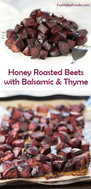 Honey Roasted Beets with Balsamic and Thyme (SCD)