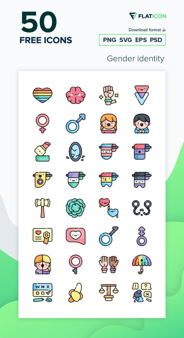 50 Free Vector Icons Of Gender Identity Designed By Freepik Free Icon Packs Icon Free Icons Png